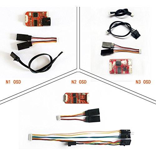 LaDicha FPV N1/N2/N3 Mini Osd per DJI Flight Controller Phantom 2 Naza V1 V2 Lite Remzibi GPS per...