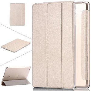 HITFIT Smart Case Trifold Stand with Auto Sleep and Wake Function for Apple iPad Pro 10.5 inch (2017) - Gold 20  HITFIT Smart Case Trifold Stand with Auto Sleep and Wake Function for Apple iPad Pro 10.5 inch (2017) – Gold 51v9x 2BW3sIL