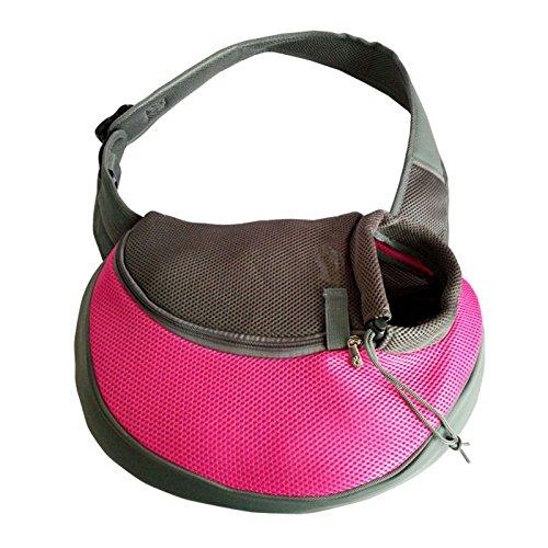 Hongfutong - Bolsa de Hombro para Perros y Gatos con Bolso de Hombro para Mascota, cómoda y portátil