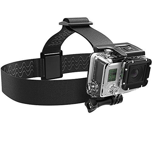 Sabrent Fascia da Testa Supporto per Videocamera Gopro (GP-HDST)