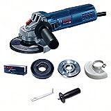 Bosch Professional Winkelschleifer GWS 9-125 S (900 Watt, Leerlaufdrehzahl: 2800 - 11000 min-1, im Karton)