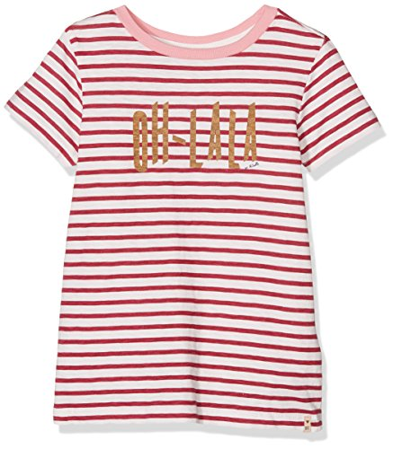 Scotch R'Belle Mädchen T-Shirt Tee with Contrast Neck Binding
