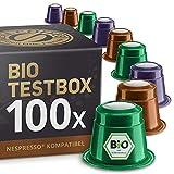 Bio und Fairtrade Testbox: 100 Nespresso kompatible...
