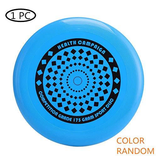 KANKOO Frisbee Frisbee Juguete Juego De Discos Voladores Disco Volador Discos Deportivos para Patio Trasero Juego De Disco Volador De Plástico para Exteriores Fácil Atrapar Disco