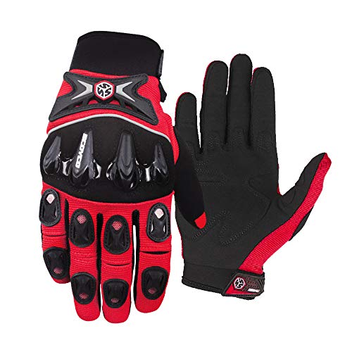Motorrad Handschuhe Fahrrad Handschuhe Perfekt Anti Rutsch Vollfinger Handschuhe Atmungsaktiv Sport Handschuhe Motorradfahren Handschuhe Sommerhandschuhen für Mountainbike, Motorcross, Radfahren 1