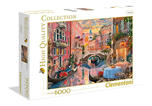 Clementoni - 36524 - High Quality Collection Puzzle - Venice evening sunset - 6000 Pezzi