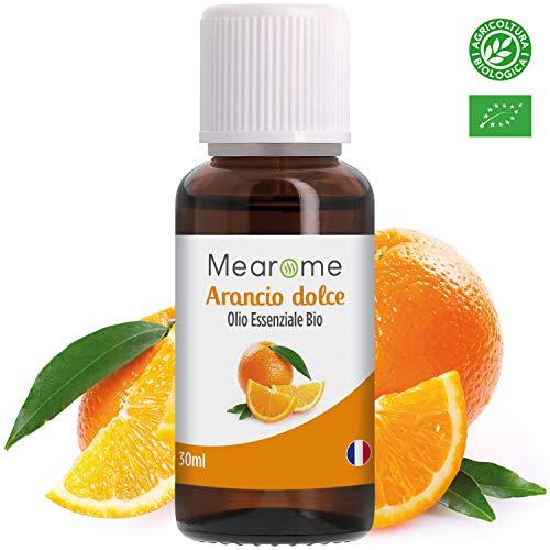 Olio Essenziale di Arancio Dolce Biologico • 100% Puro Naturale Vegano • Olio Essenziale per...