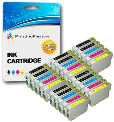 25 Cartucce d'inchiostro compatibili per Epson Stylus S20 S21 SX100 SX105 SX110 SX115 SX200 SX205...