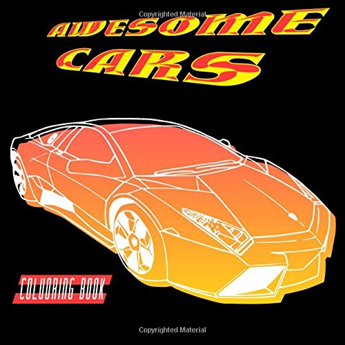Awesome Cars Colouring Book For Boys An Buy Online In Canada At Desertcart