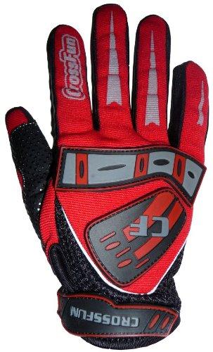 #Kinder Motocross Handschuhe rot Größe 5#