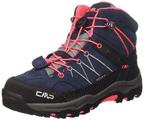 CMP-Unisex-Rigel-Mid-Wp-Trekking-Wanderstiefel-Grau-Antracite-Red-Fluo-95bd-41-EU
