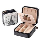 B Catcher Contenitore di monili di,sacchetto di immagazzinaggio cosmetico dellorganizzatore di caso della scatola di gioielli portatile di viaggio