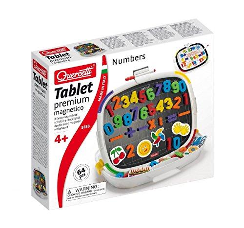 Quercetti 05353 - Gioco Tablet Premium Numbers