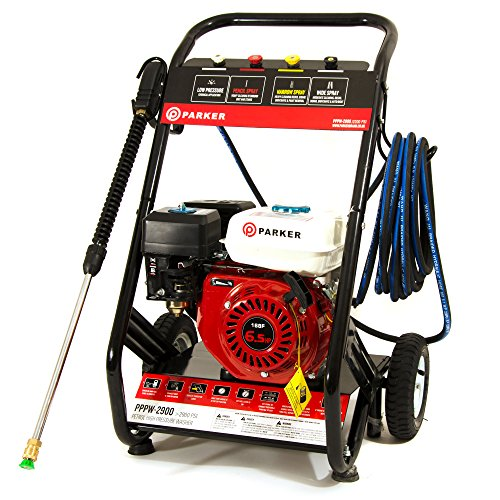 Idropulitrice a benzina - motore 6.5HP - 2900 PSI