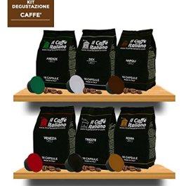 FRHOME – Nescafè Dolce Gusto 96 Capsule compatibili – Il Caffè Italiano – Kit Degustazione Tour d'Italia con varie intensità