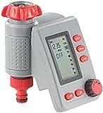 Royal Gardineer Zeitschaltuhr Wasser: Digitaler Bewässerungscomputer BWC-100 mit Magnet-Ventil (Garten-Bewässerungscomputer)