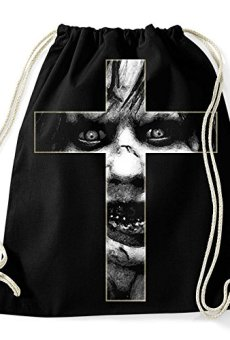 35mm – Mochila / Bolsa The Exorcist- El Exorcista Cruz, Unisex, NEGRA