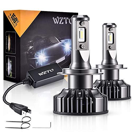 Lampadine LED H7,WZTO 70W 12000LM Fari Abbaglianti o Anabbaglianti per Auto, Lampada Sostituzione...