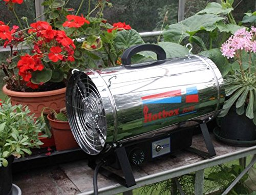 The Hotbox Elite 2.8Kw Greenhouse Heater is an electric heater that will warm up greenhouses that are approximately 10ft x 12ft or up to 120²ft.