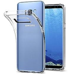 Kaufen Spigen Liquid Crystal Samsung Galaxy S8 Hülle (565CS21612) Transparent Silikon Handyhülle Passgenau Durchsichtige Schutzhülle Case (Crystal Clear)
