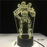 Apex Legends Wraith Figur 3d Led Nachtlicht Schlacht Schlafzimmer Dekor Licht Kinder Freund Geburtstagsgeschenk Tischlampe Aw-3580