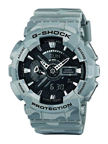 Casio Herren-Armbanduhr XL G-Shock Analog - Digital Quarz Resin GA-110CM-8AER