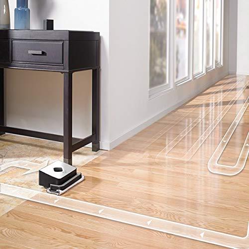51w1glSUZVL [Bon Plan Neato] iRobot Braava 390t, robot laveur de sols pour plusieurs pièces et larges espaces, silencieux