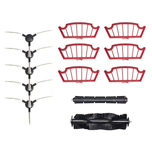 H.Koenig K22 Accessori per Aspirapolvere Robot SWR22 e TRX24, Nero/Rosso