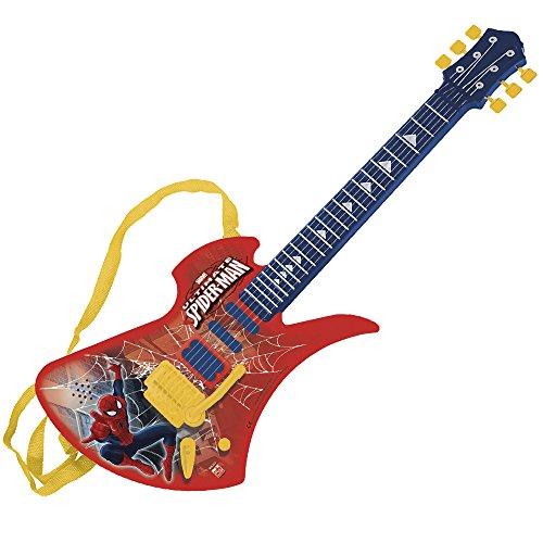 Guitarra electrónica spiderman