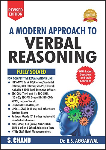 A Modern Approach to Verbal Reasoning (Old Edition) (R.S. Aggarwal)
