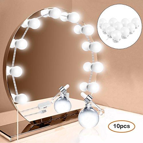 ANSTEN Luci Specchio per Lo Stile di vanità LED di Hollywood, luci Specchio per Trucco con...