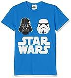 Star Wars HSW9518, T-Shirt Bambini e Ragazzi, Blu (Royal), 116 (Taglia Produttore:L)