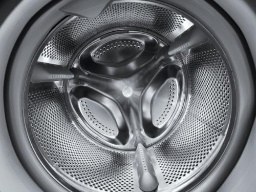 Indesit XWE 81483X K EU Waschmaschine FL / A+++ / 193 kWh/Jahr / 1400 UpM / 8 kg / 11594 Liter/Jahr / Push und Wash / Inverter-Motor / leise nur 52 db / Schnellprogramm 9-30-60 Min / schwarz - 5