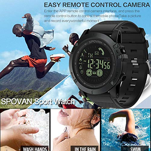 Digital Smart corsa orologi frequenza cardiaca contatore 50m impermeabile uomo sport orologio...