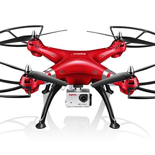 E-KIA Drone con Telecamera,Droni Radiocomandati,1080P, Trasmissione di Immagini FPV, Cambio di...