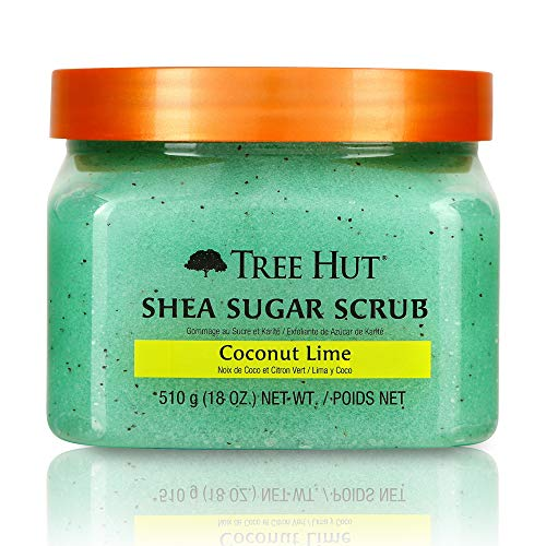Tree Hut Shea Sugar Body Scrub, Coconut Lime, 510g