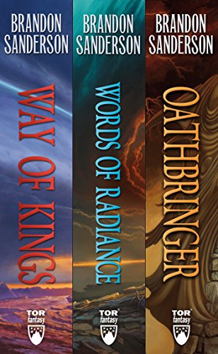 The Stormlight Archive, Books 1-3: The Way of Kings, Words of Radiance, Oathbringer (English...