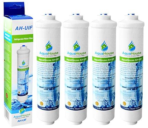 4x AquaHouse AH-UIF Compatibile universale Frigorifero Filtro acqua per Samsung LG Daewoo...