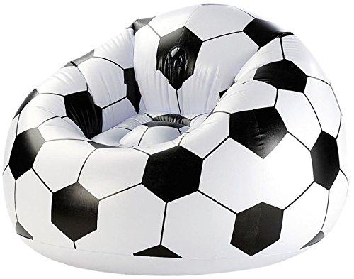 Amscan - Poltrona Gonfiabile Pallone Da Calcio