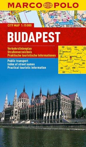 MARCO POLO Cityplan Budapest 1:15 000: Stadsplattegrond 1:15 000 (MARCO POLO Citypläne)