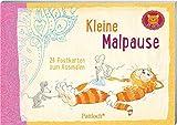 Om-Katze: Kleine Malpause: 24 Postkarten zum Ausmalen