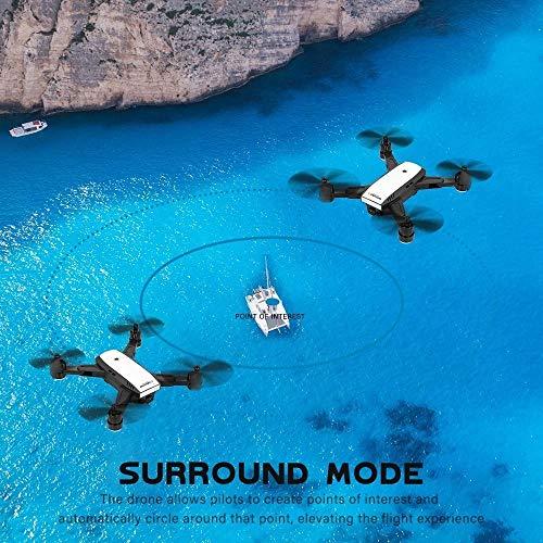 LM Drone Drones et caméras WiFi Quadcopter et 1080P caméra vidéo en Direct Hauteur Pliable Garder Mode sans tête GPS Retour Automatique 27