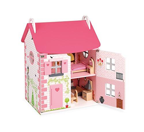 Janod Casa delle Bambole Mademoiselle, 1 , Modelli/Colori Assortiti, 1 Pezzo