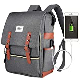 Laptop Backpack,Puersit 15 Inch Laptop Backpack Durable Business College Daypacks Zebella