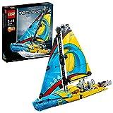 LEGO-Technic Le yacht de compétition Jeu Garçon et Fille 8 Ans et Plus, Jeu de Construction, 330 Pièces 42074