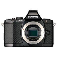 """Olympus OM-D E-M5 - Cámara Evil (sólo Cuerpo, Sensor Live Mos 4/3"""" 16.1 MP, Pantalla tactil OLED abatible de 3"""", Visor electrónico, vídeo 1080p Full HD) Color Negro"""