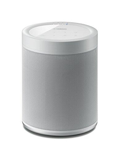 Yamaha MusicCast 20 Diffusore Bluetooth - Speaker wireless multi-room per l'ascolto di musica in streaming - WiFi dual band integrato, Bluetooth 4.2, design moderno, colore bianco