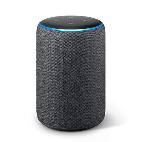 All-new Amazon Echo (3rd Gen) - Improved sound, powered by Dolby (Black)