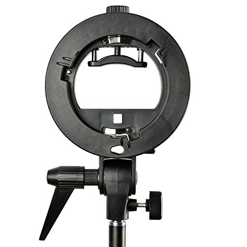 Godox Bowens S-Type Bracket for Snoot Windows, Soft boxes, Beauty Dishes, etc.; with Bowens Mount