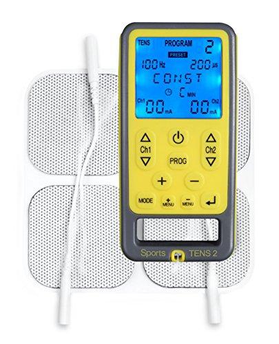 Tenscare K-ST2-DE SportsTens- Schmerzlinderung, Muskeltonus und Massage in einem Gerät